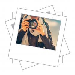Foto 9x10 Tipo polaroid