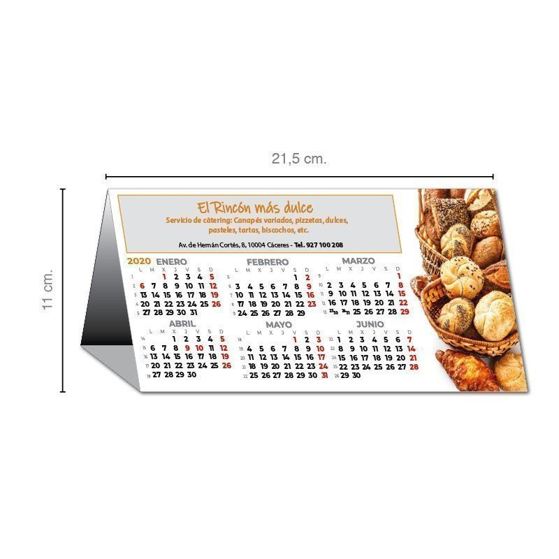 Calendario Montado Personalizado