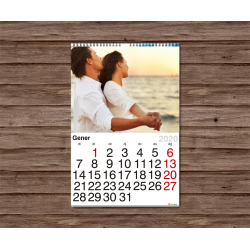 Calendari paret 13 fulles