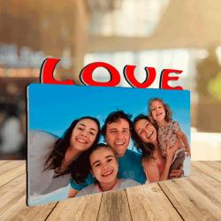 Cuadro LOVE 180x150 de Madera
