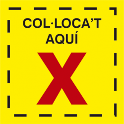 Vinilo COVID19 suelo colócate