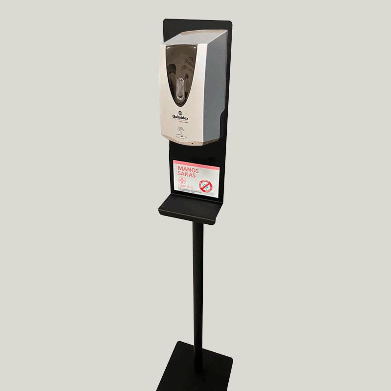 Dosificador automático PLATA + pie...