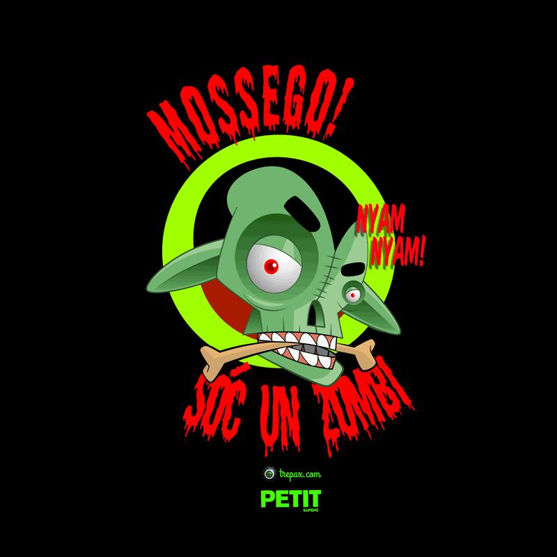Samarreta - Mossego, sóc un zombi!