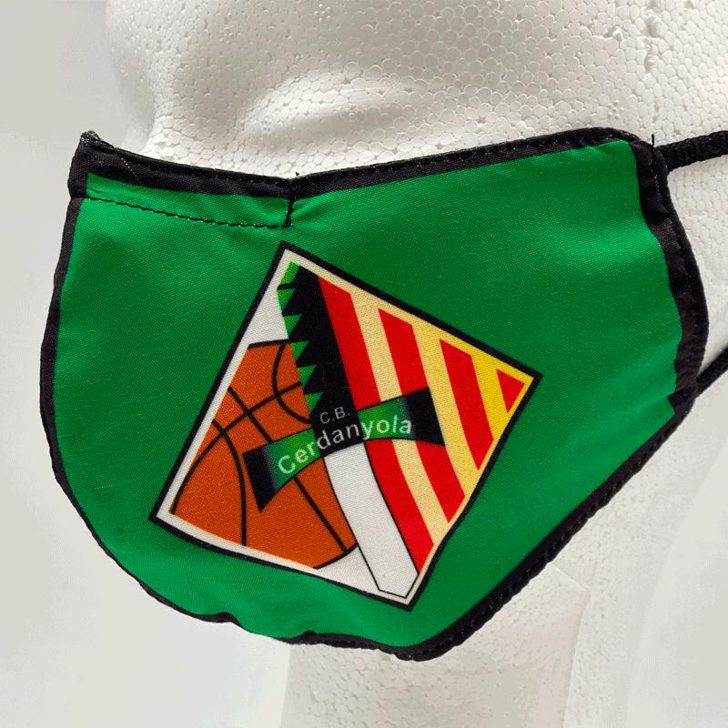 Mascarilla Club Basquet Cerdanyola