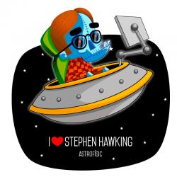 Camiseta Hawking
