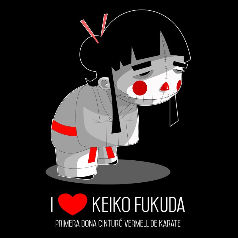 Camiseta Keiko Fukuda