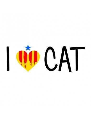 Samarreta i love CAT